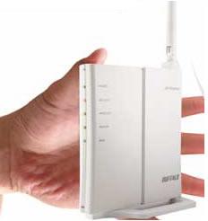 Buffalo 巴比禄 WCR-GN 迷你型高性能150M无线路由器,新蛋网69元