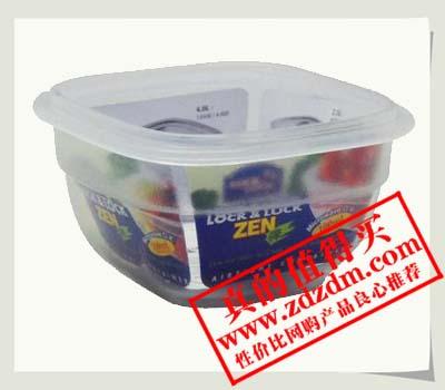 限时抢购白菜价:LOCK&LOCK乐扣乐扣普通型保鲜盒方形(100ml) HSM8410,5.5元包邮