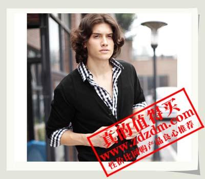 可机洗舒适纯羊毛素色开衫(男款) 凡客诚品 感恩价:¥129(包邮)