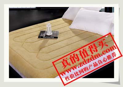 京东【棉朵家纺】床垫/床褥 珊瑚绒抗菌按摩床垫180*195cm1.8米原价458元现价109元~值得抢!
