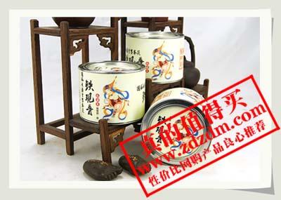 京东商城:铁观音茶叶铁罐紧压茶50gX3罐大促销原价174现价59元包邮