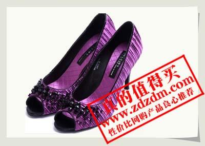 星期六蛇纹猪皮女装皮凉鞋SSA2SF0504京东特价99元包邮原价299元