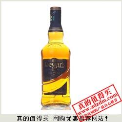 京东:Dewar's帝王12年调配苏格兰威士忌700ml 119元包邮
