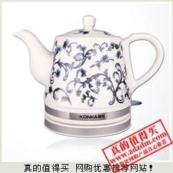 一号店:康佳陶瓷电水壶KEK-12DT1003 79元全网最低