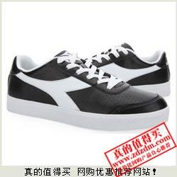 库巴:迪亚多纳(Diadora)男士时尚休闲板鞋 两色可选 劲爆99元