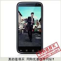 苏宁:戴尔V04B 1.5G双核 4.3英寸AMOLED 800万双摄像头手机 限时抢购999元