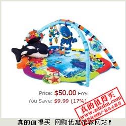 Baby Einstein 海底世界婴儿游戏毯 $50(约¥330)