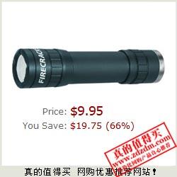 海购:戈博Gerber 22-80106 Firecracker LED高流明手电筒,$9.95