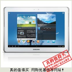 亚马逊:SAMSUNG三星Galaxy Note N8010 10.1寸 4核平板电脑2999元 历史最低