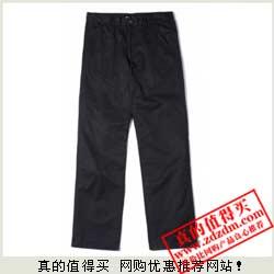 邦购:Metersbonwe美特斯邦威男款100%棉宽松水洗长裤 团购价49元包邮