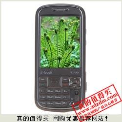 易讯:天语C700 GSM拍照手机700万像素氙气闪光灯 199元超值之选