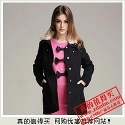凡客V+:ITISF4 艾夫斯 新款 100%棉 女式立领棉衣20510304 特价仅69元包邮