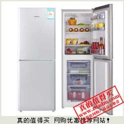 亚马逊:Z秒杀 MEILING 美菱BCD-180LCT 180升两门冰箱 1099元包上门