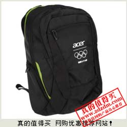 苏宁白菜价:宏碁(ACER)奥运纪念版15.6寸笔记本电脑双肩包33元包邮