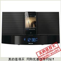 京东:PHILIPS飞利浦 AJ7040D/93 Ipod/Iphone时钟收音机音箱限时特价499元包邮