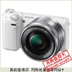 卓美网:索尼 NEX-5R/16-50 白色套机特价3980元包邮 行货带票