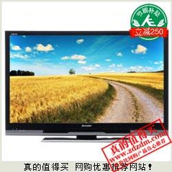 易迅网:SHARP夏普 LCD-40DS30A 40英寸LED液晶电视 单减+补贴后2999元包上门