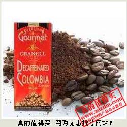 亚马逊:GRANELL西班牙可莱纳哥伦比亚低因咖啡豆500g(进口)仅149元包邮