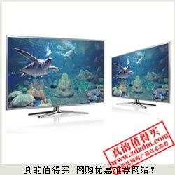 京东:SAMSUNG三星 50英寸3D智能全高清LED电视 满减返后约合7799元包上门