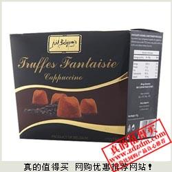 我买网 比利时进口梵纳丝松露巧克力卡布奇诺味175g 特价19.9包邮