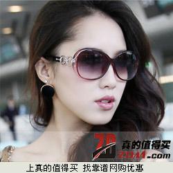VANIS梵妮莎 女 大框偏光太阳眼镜 特价9.7元包邮 男款航空铝镜架69.9元