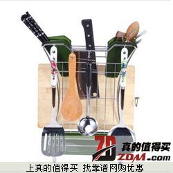 京东:樱花环保多功能菜刀架 砧板架  39元包邮