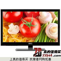 京东:HKC惠科 L24V6 24英寸LED背光液晶显示器满减后769元 (带TV功能)