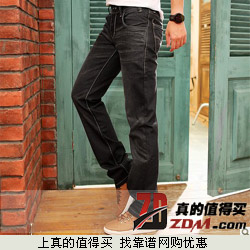 LanYan兰雁 中腰直筒牛仔裤下单享29.8元包邮