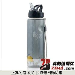一号店:Elmundo/艾蒙多 Tritan健康吸管趣味瓶 750ml   29.9元