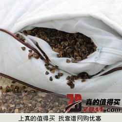 Xi Ruo喜偌家纺纯棉+100%荞麦填充颈椎保健枕(4.5斤)36.8元包邮
