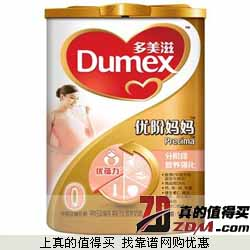 京东商城:多美滋Dumex  金装优阶妈妈奶粉900克 仅107元包邮