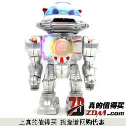 YEARO TOY益尔乐儿童一致发弹电动玩具机器人下单28元包邮
