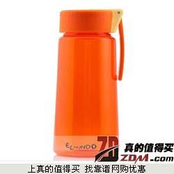 京东:艾蒙多(膳魔师出品)拎手防漏Tritan塑料杯500ml  26.6元