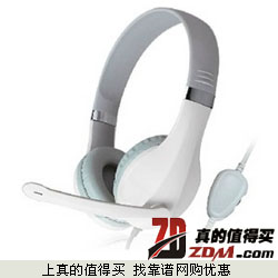 kanen卡能KM-1080 头戴式有线耳麦 拍下15.8元包邮  黑白两色