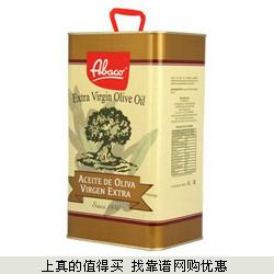 苏宁:Abaco皇家爱宝康特级初榨橄榄油 4L+奥利奥318g双重优惠129元包邮(涨价)