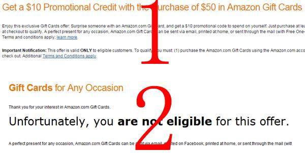 拼人品!美国亚马逊购买Amazon Gift Card礼品卡
