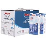德国进口MUH 牧牌 全脂纯牛奶 1L*12盒