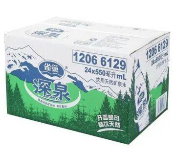 苏宁:雀巢深泉天然矿泉水550ML*24整箱