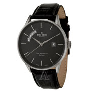 EDOX依度Les Vauberts系列83010-3N-NIN男款机械腕表