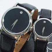 新低价!Movado摩凡陀Museum博物馆系列2100002/4情侣款时尚腕表