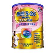 京东:惠氏(Wyeth)S-26爱儿乐妈妈孕产妇营养配方奶粉900克罐装