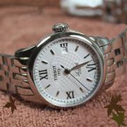 钻石用户!TISSOT天梭Le Locle力洛克T-Classic经典系列T41.1.183.33女士机械腕表