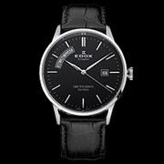 EDOX依度Les Vauberts系列83007-3-NIN男款机械腕表