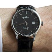 EDOX依度Les Vauberts系列80081-3-NIN男款机械腕表