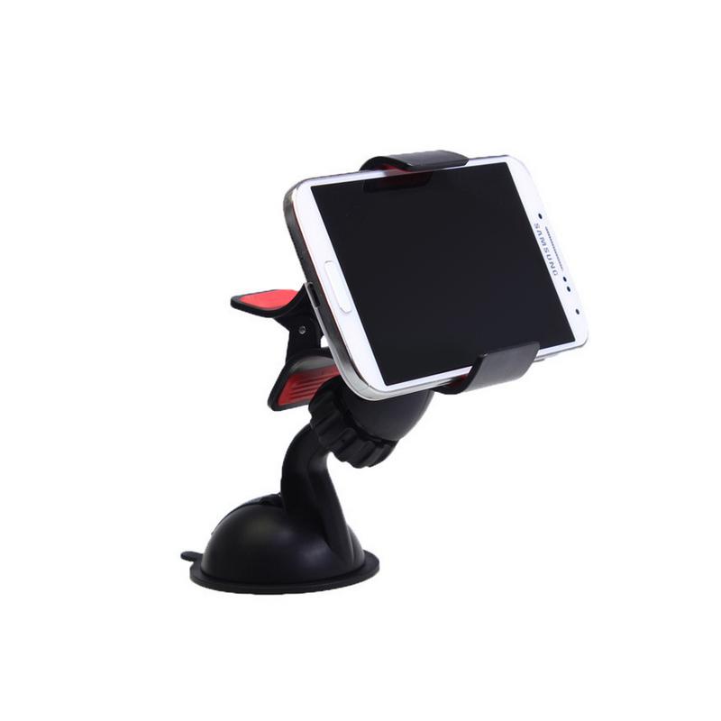车载手机支架 车用360度手机支架 4.3-6.3英寸放车上的手机支架小米苹果三星