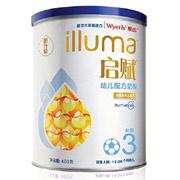 Wyeth惠氏启赋幼儿配方奶粉3段400g 新包装(进口)*3罐