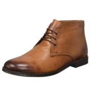 Clarks其乐Hawkley Rise男士真皮短靴
