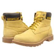 Caterpillar卡特彼勒Bridgeport男经典款帅气大黄靴
