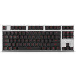 百元内靠谱机械键盘!RAPOO雷柏 V500 合金版游戏机械键盘黑轴