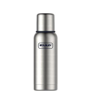Stanley史丹利 10-01562-021 中性拉丝不锈钢探险系列真空保温瓶